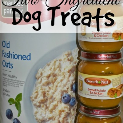 Two-Ingredient Homemade Dog Treats Recipe