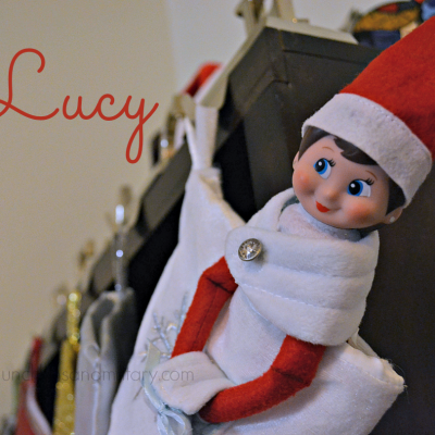 Meet Lucy, Our Elf!