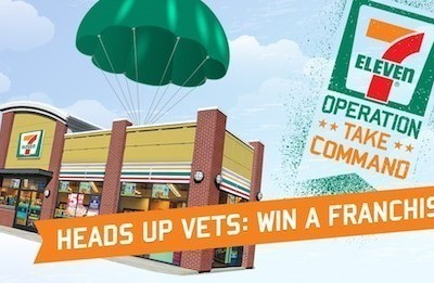 OPERATION: TAKE COMMAND – 7-Eleven Franchise Giveaway for Veterans