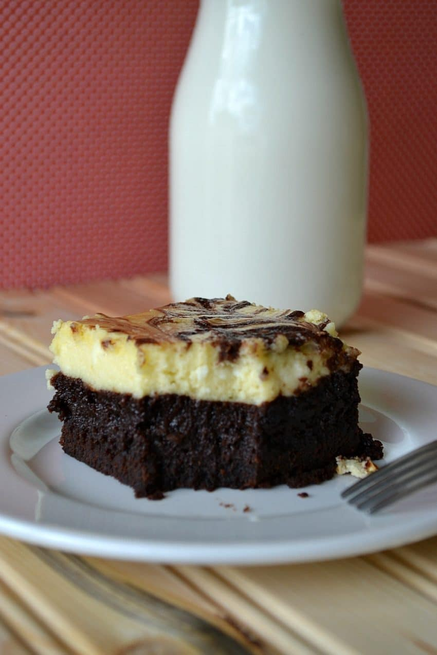 Cheesecake brownie recipe from scratch