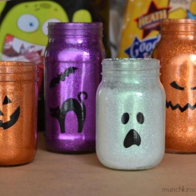 Glittery Ghoul Votives
