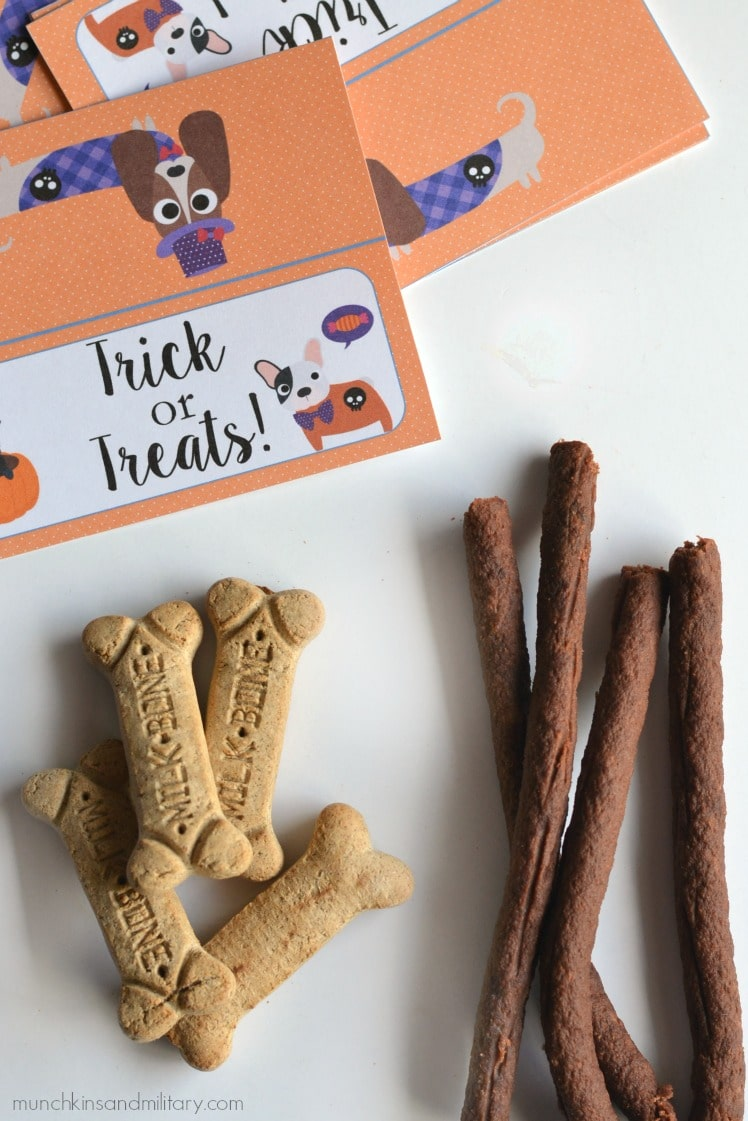Don't forget the furry trick or treaters on Halloween! Be prepared with Milk-Bone & Pup-Peroni! #TreatThePups ad