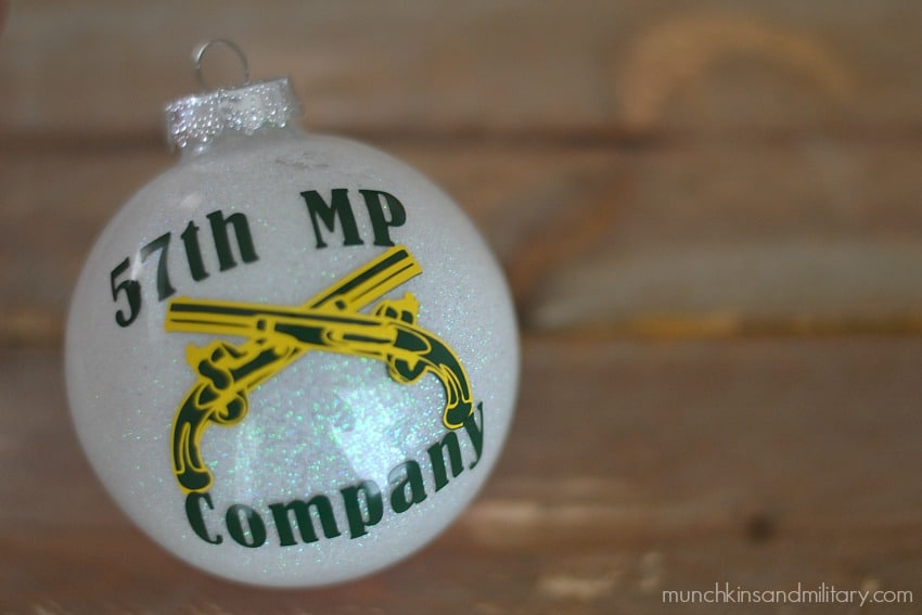 army military police ornament