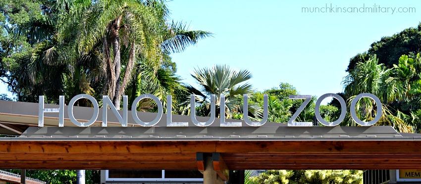 honolulu zoo entrance