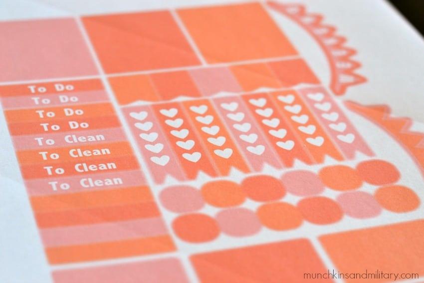 Free Erin Condren Life Planner Stickers