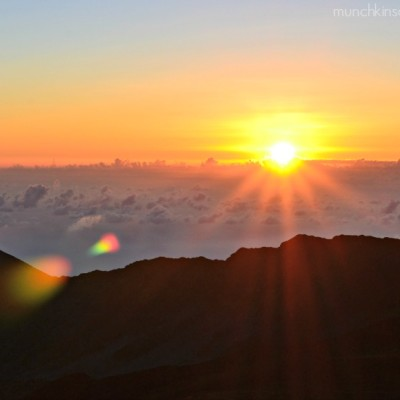 Sunrise and Sunset from Haleakala – Maui