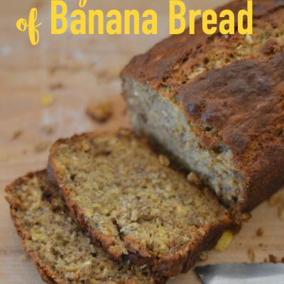 Honey Bunches of Banana Bread