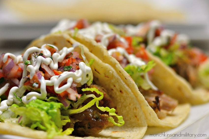 Easy to make pork carnita tacos! Happy Taco Tuesday!