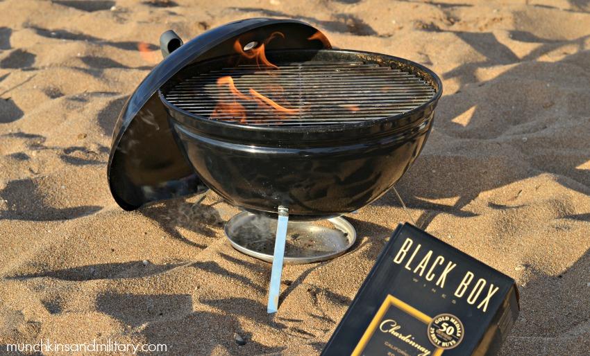 foil-pack-grill-beach