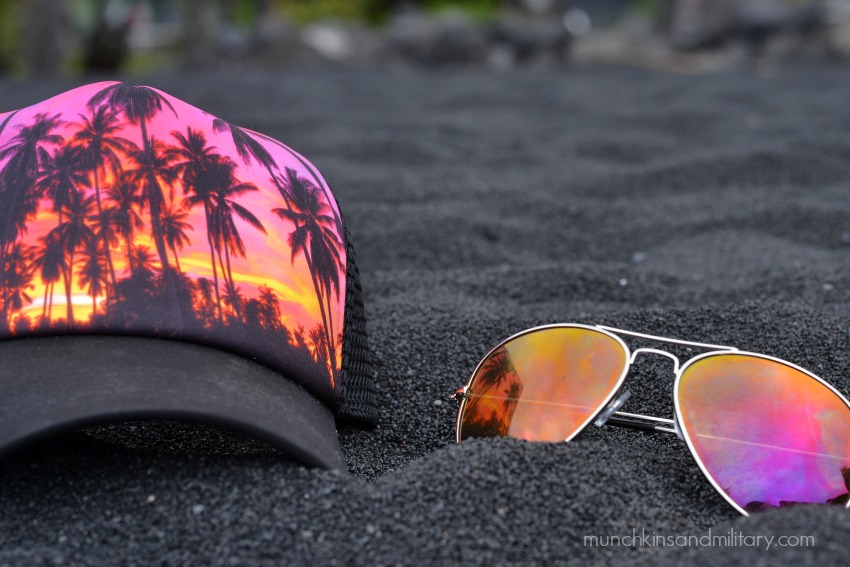 Black Sand Beach - Big Island, Hawaii