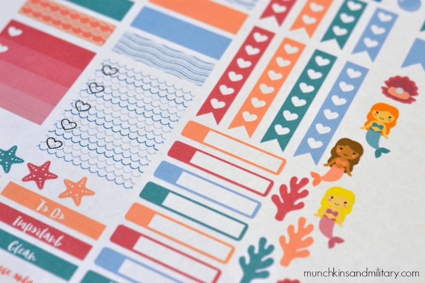 A great addition to your Erin Condren Life Planner! Print these stickers out for free!