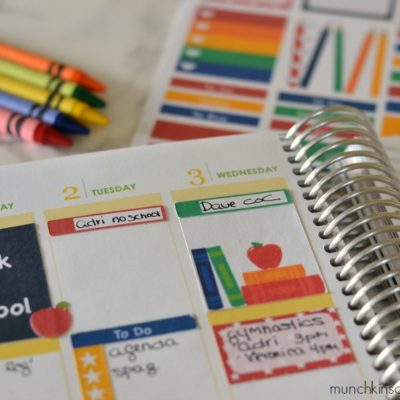 Back to School Planner Stickers