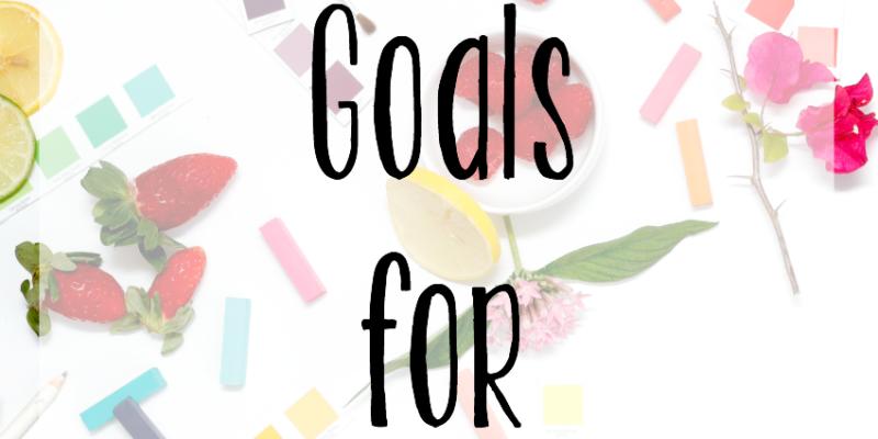Blog Goals for 2017
