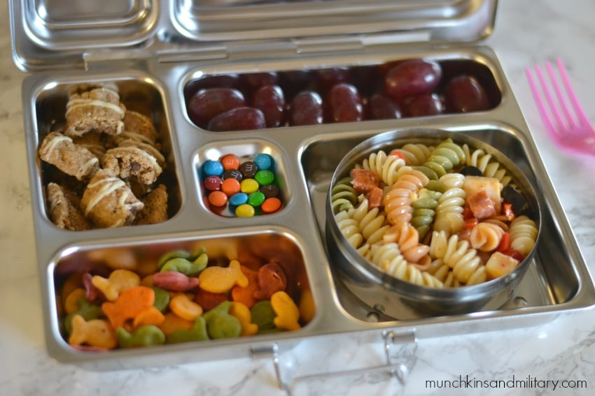 pasta salad bento lunch idea