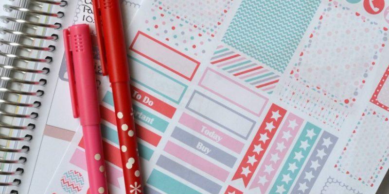 Valentines Planner Stickers