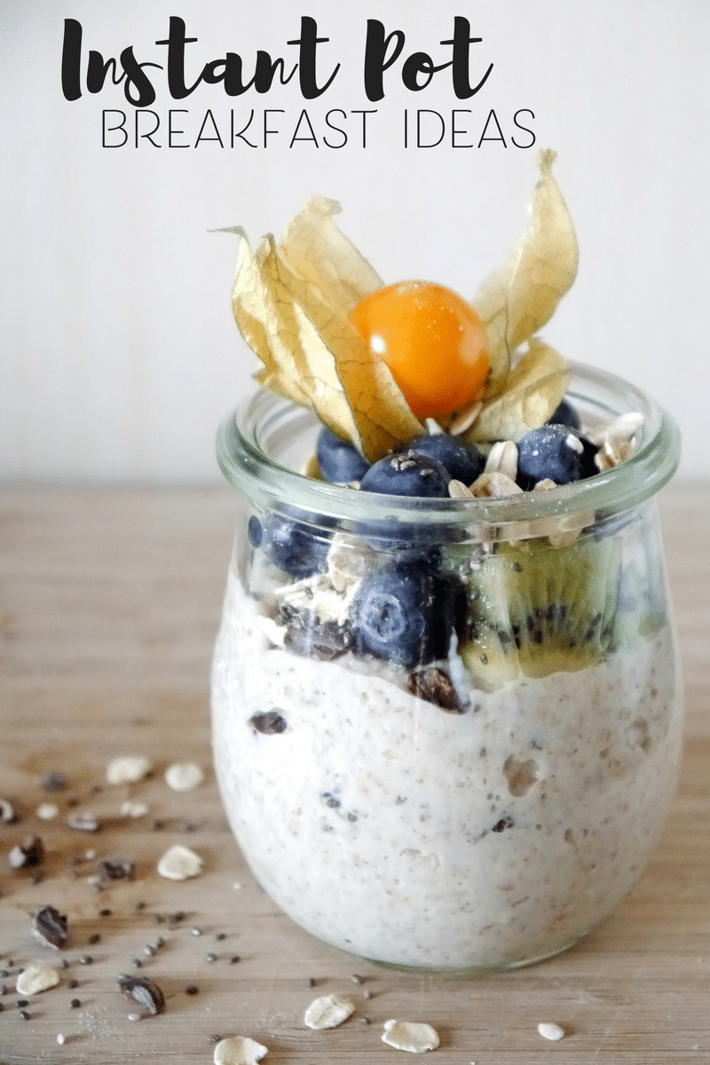 Instant Pot Breakfast Ideas - Chia Pudding