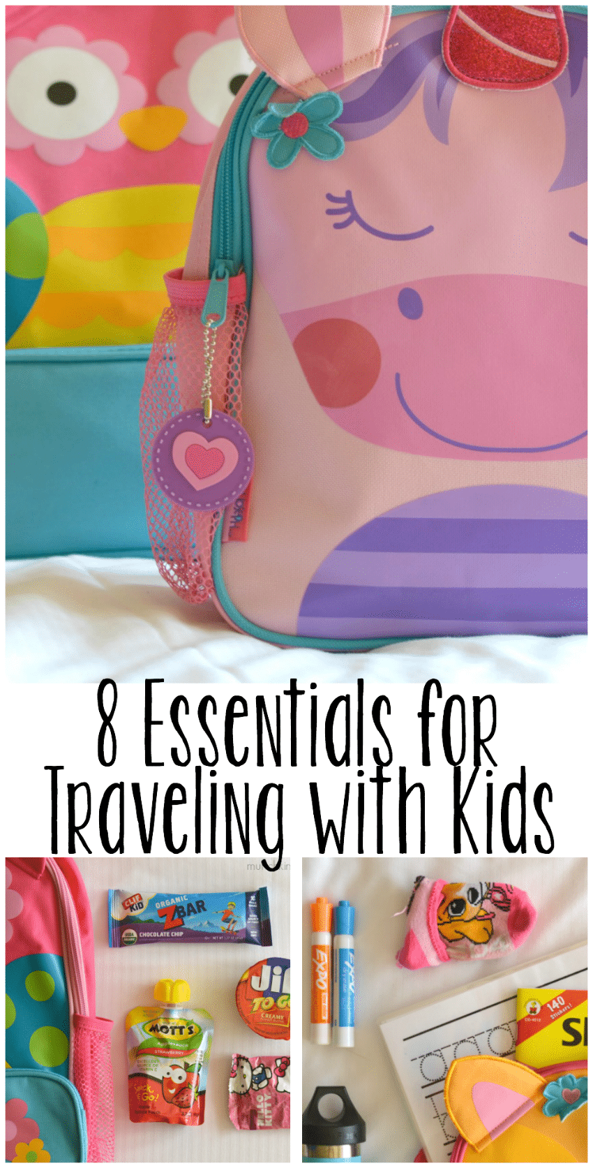 8 essentials for traveling with kids