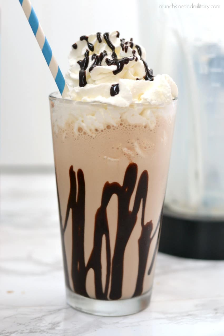 Mocha Freeze coffee & ice cream drink