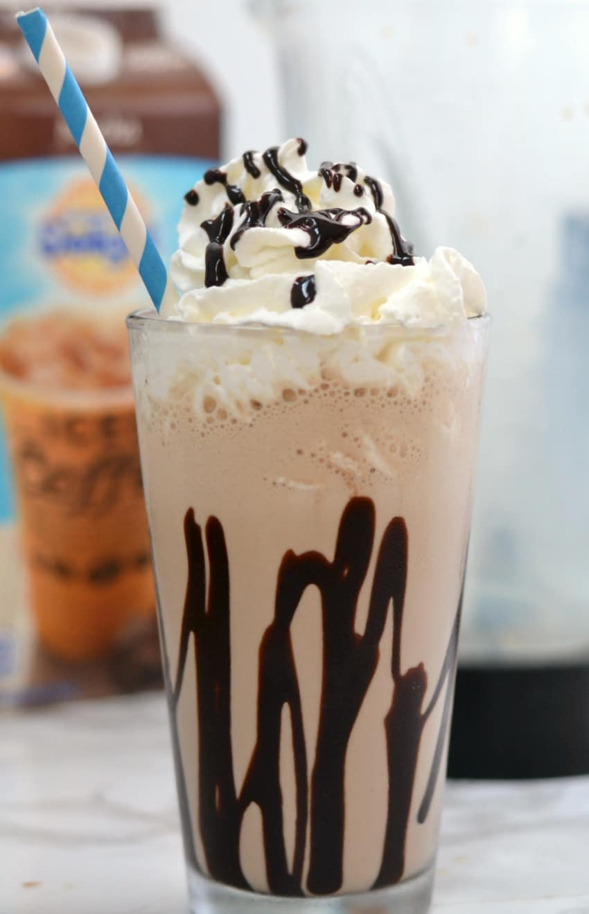 Get your week started with a delicious frozen coffee recipe!
