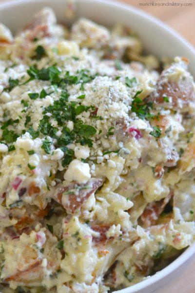 Bacon & Blue Cheese Potato Salad