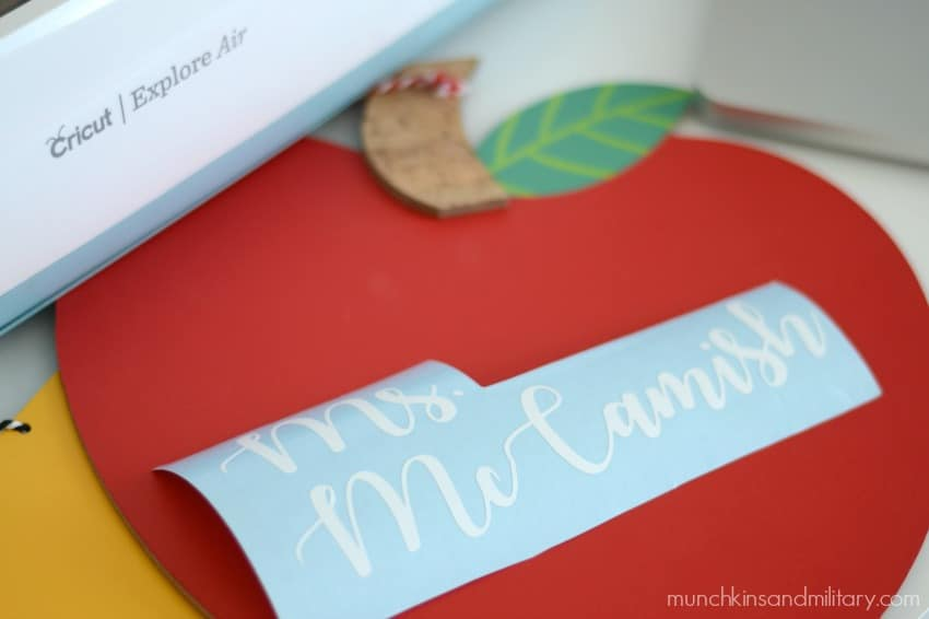 Cricut Explore teacher gift idea