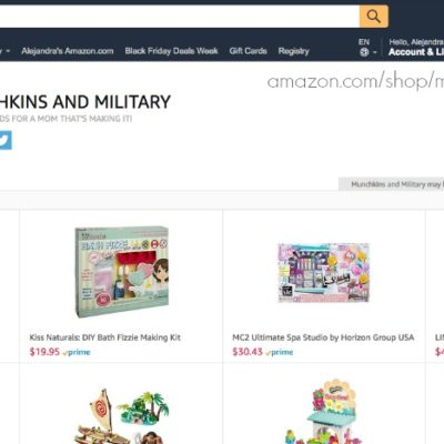 Amazon Christmas Shopping List