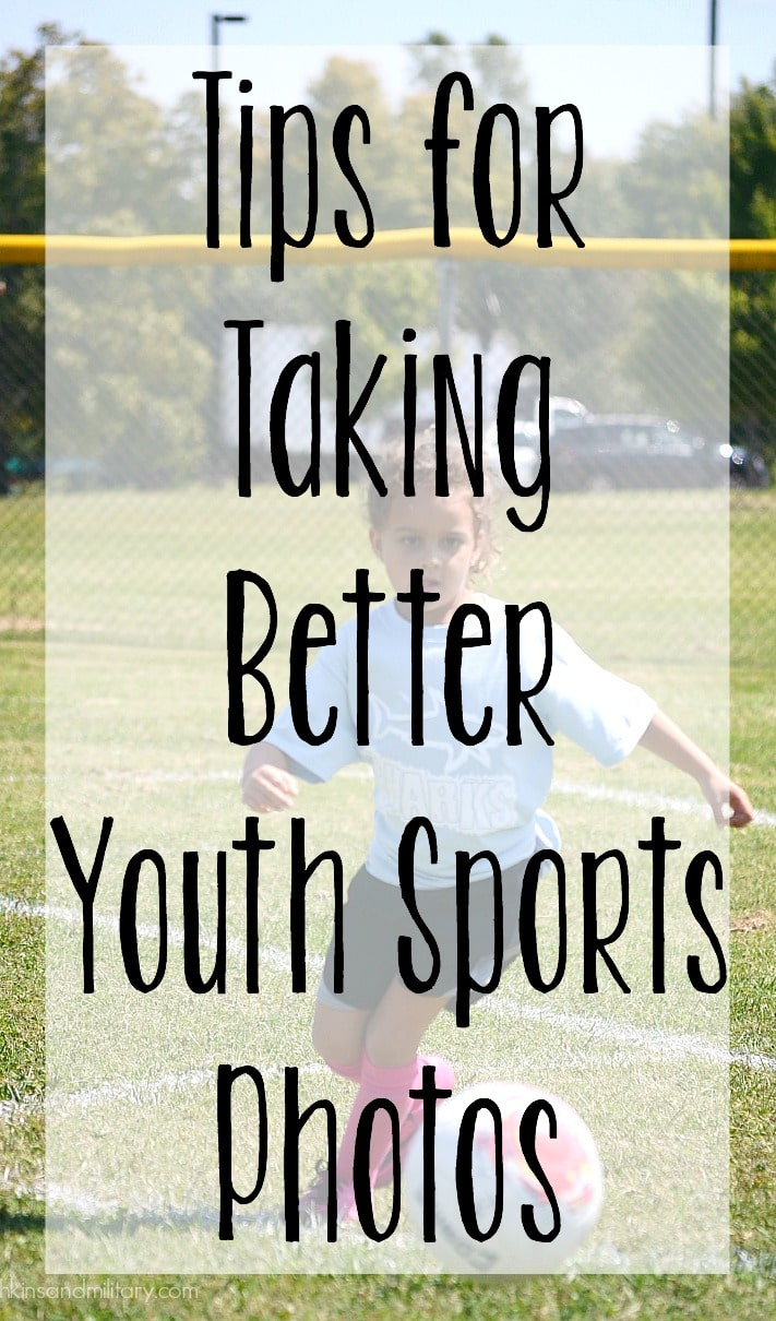4 Tips for taking better photos at youth sport events