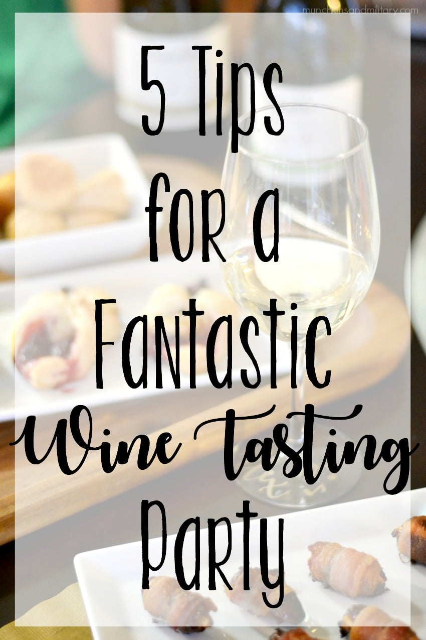 5 tips for hosting a fantastic wine tasting party for all of your friends!