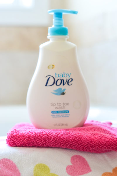 Bath Time Love with Baby Dove