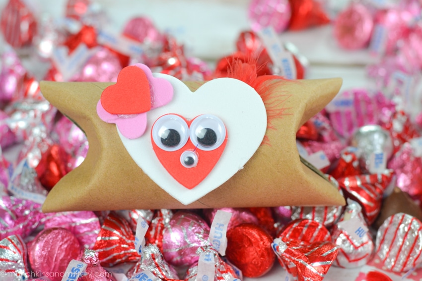 HAPPY VALENTINE'S DAY - DIY Valentine's treat craft