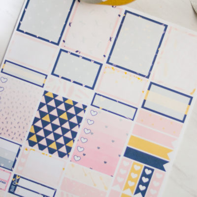 New Year, New Printable Planner Stickers