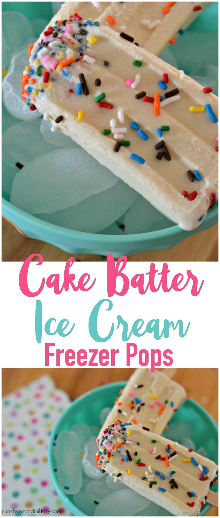 Basic Cake Pop Batter Recipe