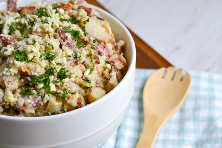 Potato Salad Recipe With Bacon And Blue Cheese