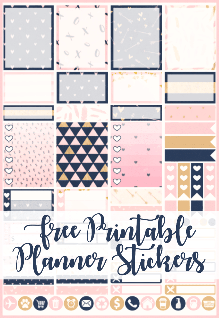 New Year New Printable Planner Stickers Three Little Ferns
