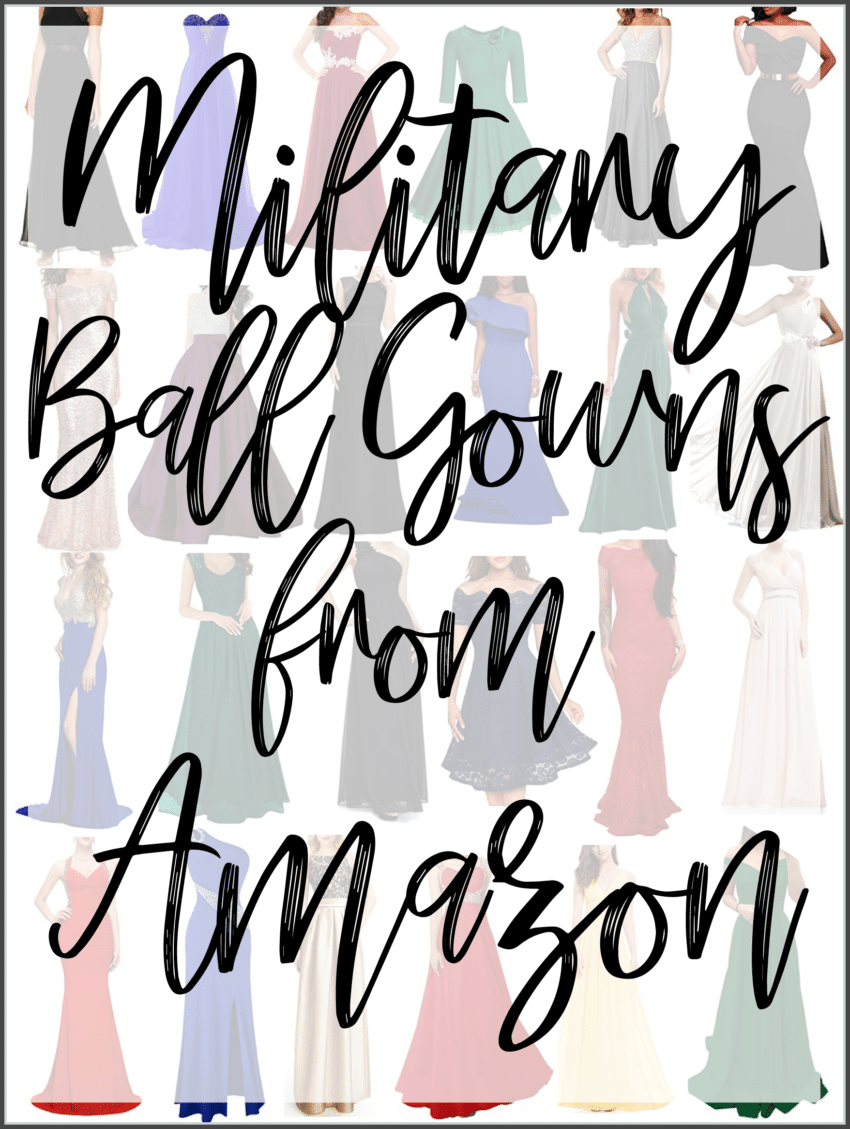 military-ball-gowns-amazon - Three Little Ferns - Family Lifestyle Blog