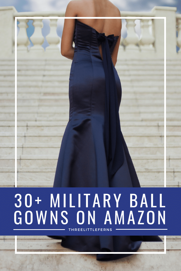 Affordable Military Ball Gowns From Amazon Three Little Ferns