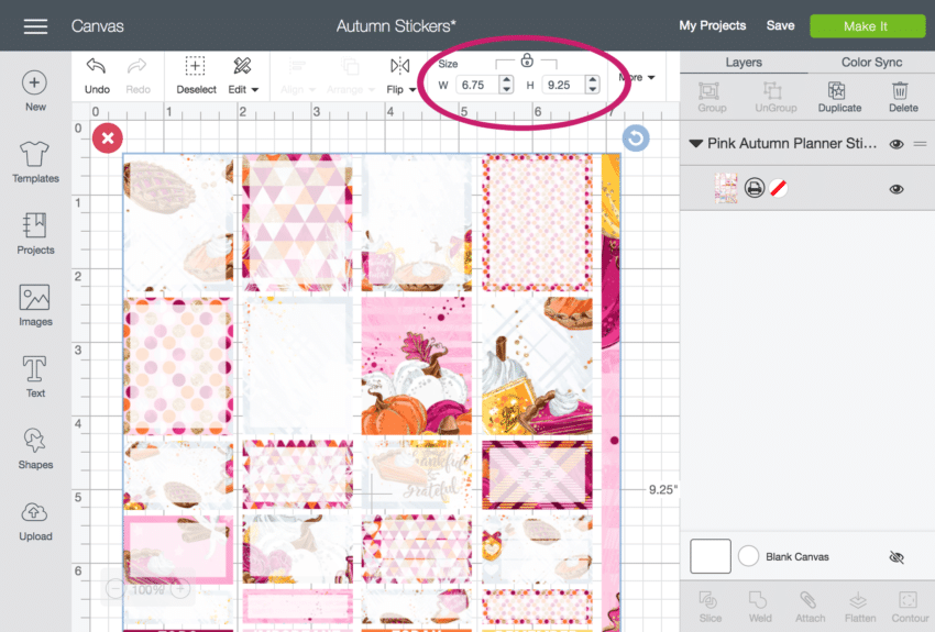 Beautiful Erin Condren Planner Stickers For Cricut Design Space Print And Then Cut ...